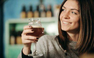 Genieten van alcoholvrij bier