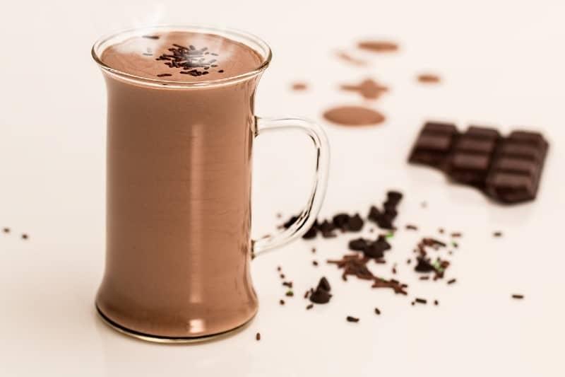 Chocolademelk tijdens zwangerschap