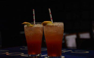 Frambozen Martini Mocktail