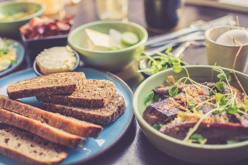 Lunch tijdens de zwangerschap