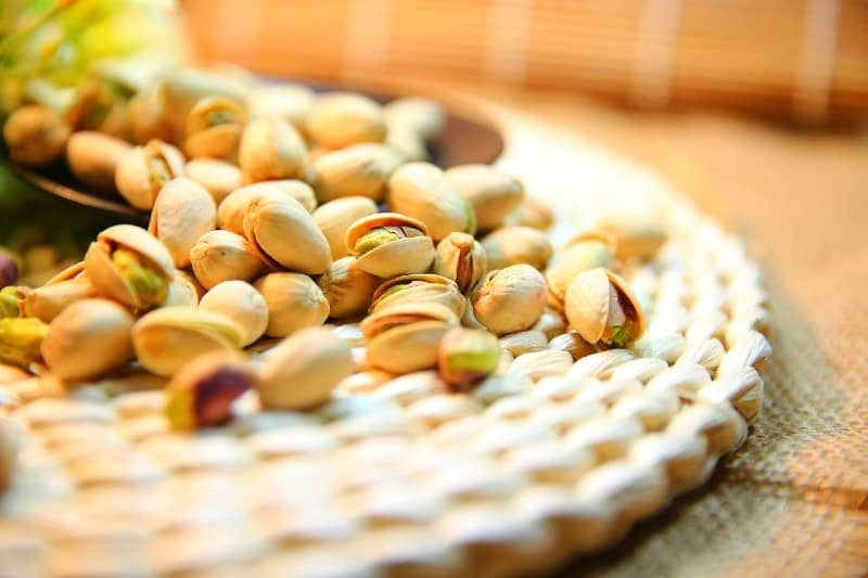 Voordelen van pistachenoten tijdens de zwangerschap