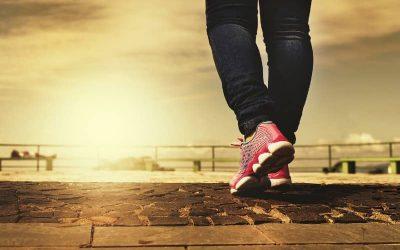 Geweldige zwangerschapsoefening: wandelen